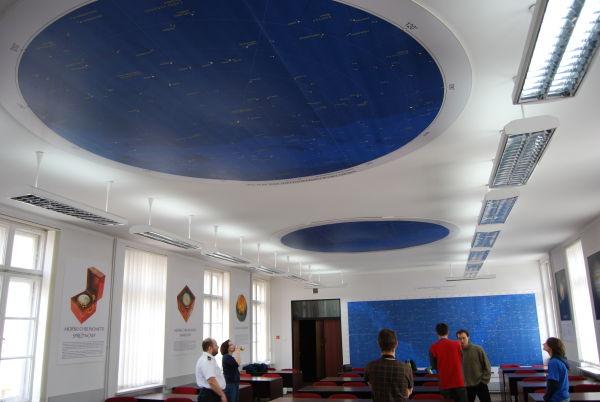 Sala wykładowa w Akademii Marynarki Wojennej w Gdyni