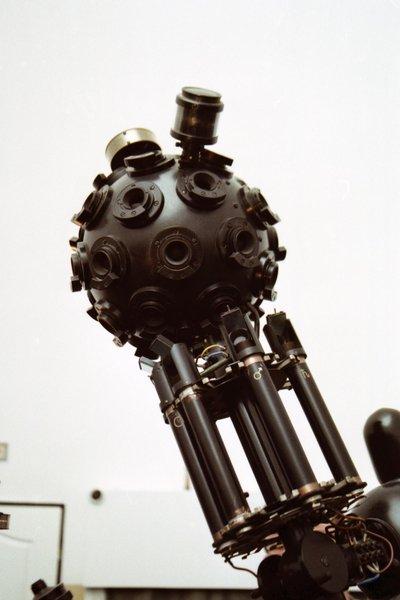 Projektor ZKP 1 w planetarium Akademii Marynarki Wojennej w Gdyni