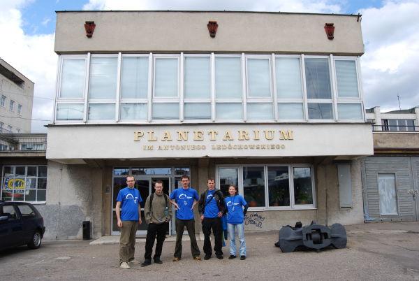 Planetarium Akademii Morskiej w Gdyni (fot. Piotr Nyczka)
