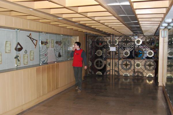 Hol planetarium Akademii Morskiej w Gdyni