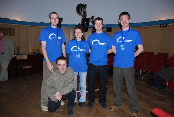 Ekipa PPP w planetarium AM w Gdyni