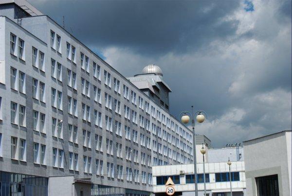 Obserwatorium na dachu budynku Instytutu Fizyki UJK w Kielcach