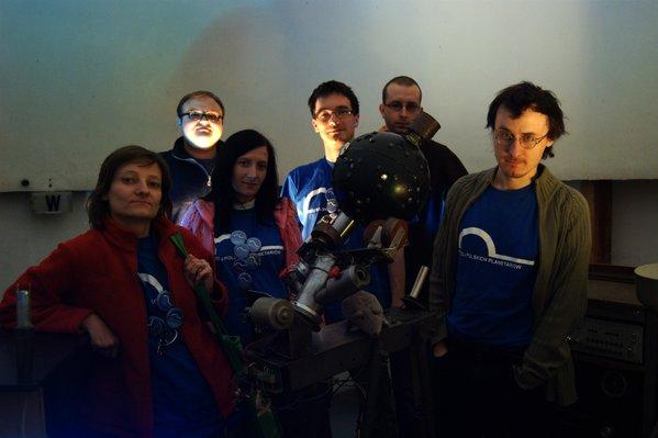 Ekipa PPP z Pawłem Maksymem