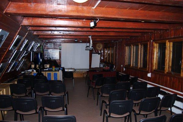 Sala wykładowa w MOA