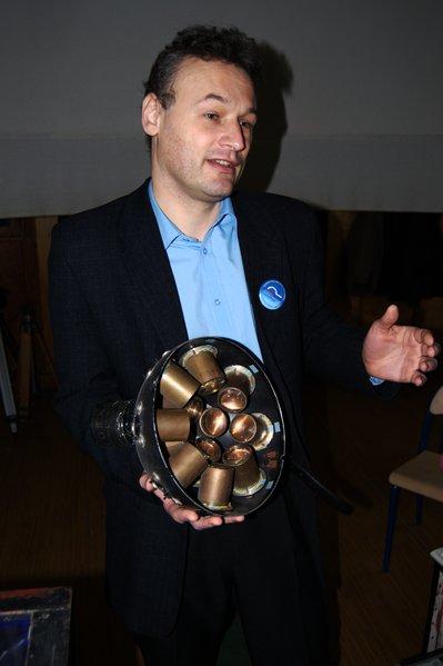 Jacek Stańczak - opiekun planetarium w Piotrkowie