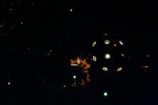 Projektor w Piotrkowie podczas seansu