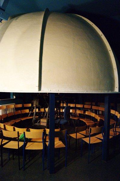 Kopuła planetarium w Potarzycy
