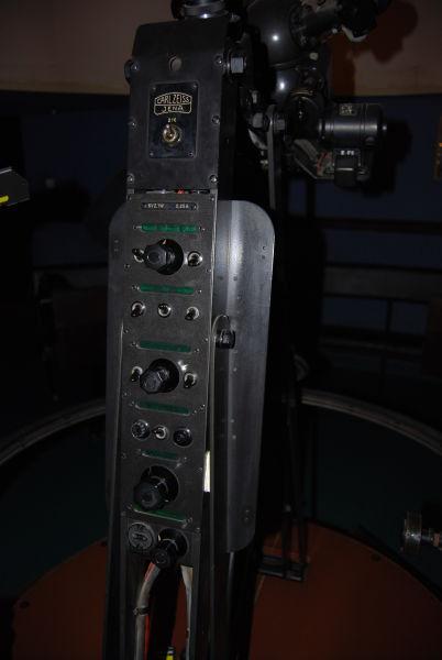 Projektor ZKP 1 - podstawowy panel sterowania