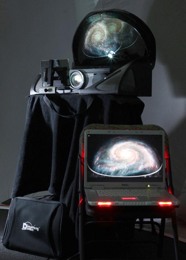 System projekcyjny ePlanetarium Newtonian 3 (źródło: https://www.eplanetarium.com/projector_newtonian.php)